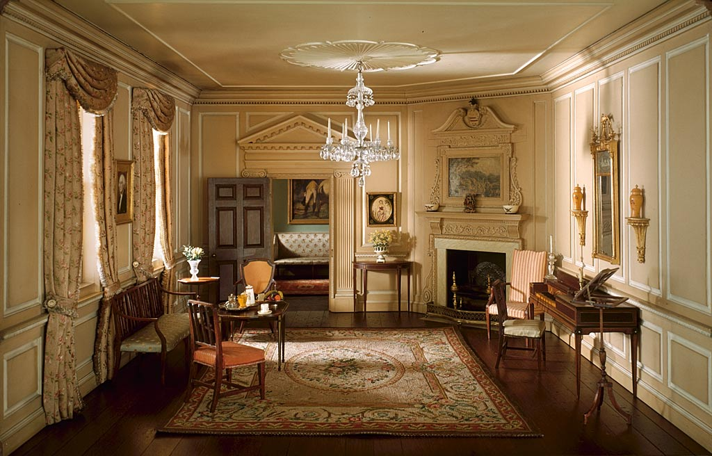 Ordinaire The West Parlor 1758 1787 Mount Vernon, Fairfax County, Virginia