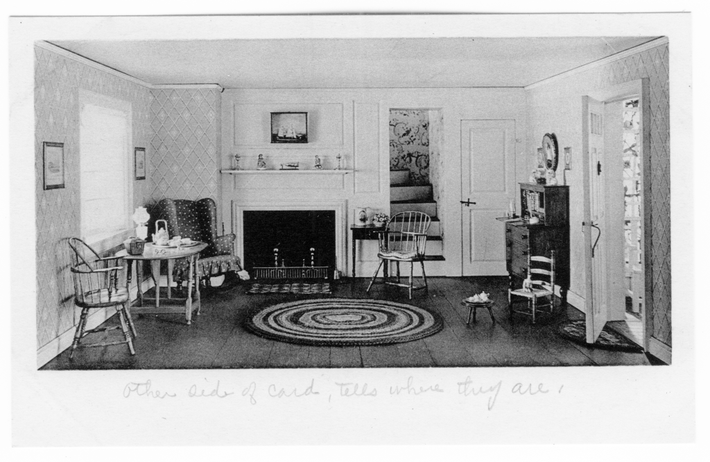 Chicago postcard museum special exhibit the art institute for Living room 1920 s